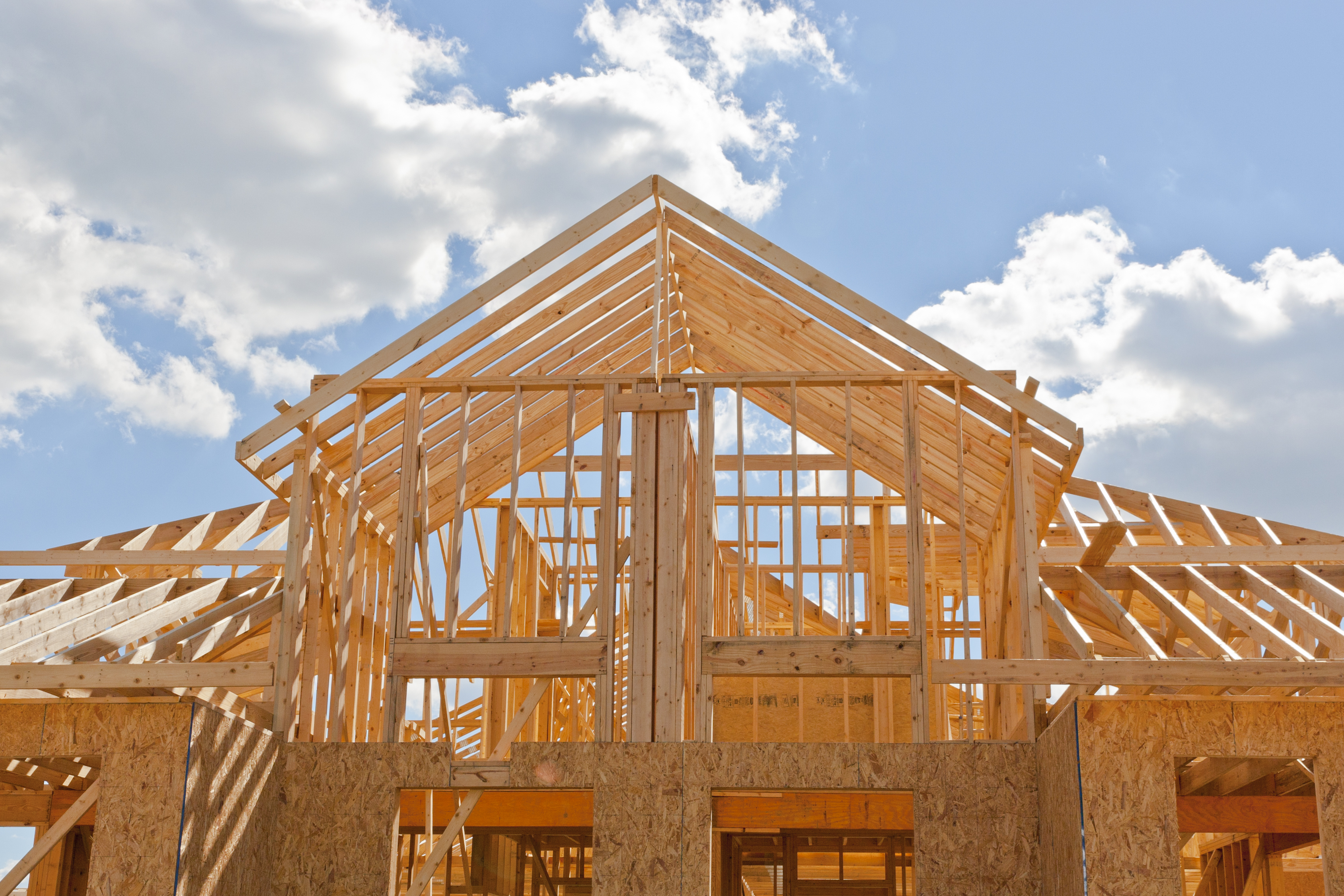 Incredible incentives being offered on new construction in for House building contractors